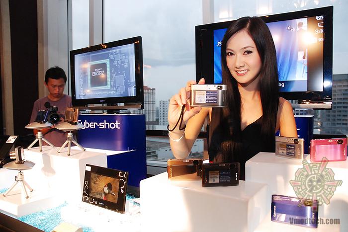 1 บรรยากาศงานเปิดตัวกล้อง Sony Cyber shot DSC TX1 & Sony Cyber shot DSC WX1
