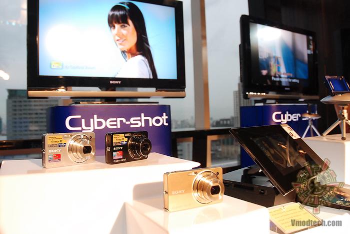 2 บรรยากาศงานเปิดตัวกล้อง Sony Cyber shot DSC TX1 & Sony Cyber shot DSC WX1