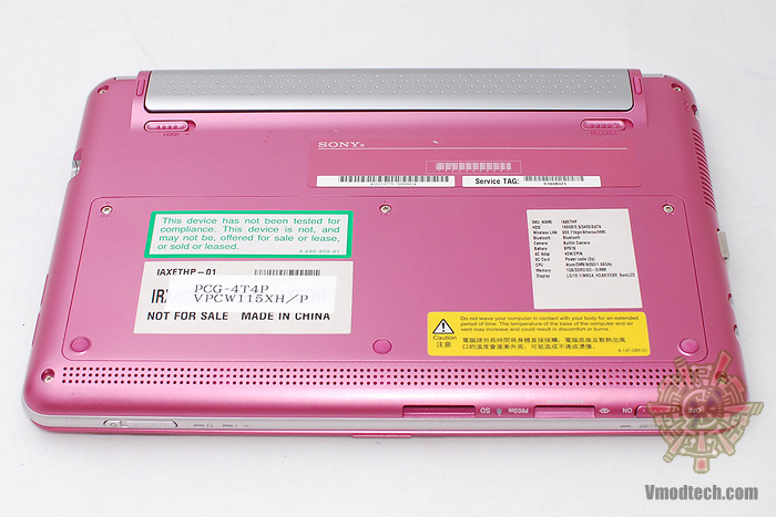 16 Review : Sony VAIO W