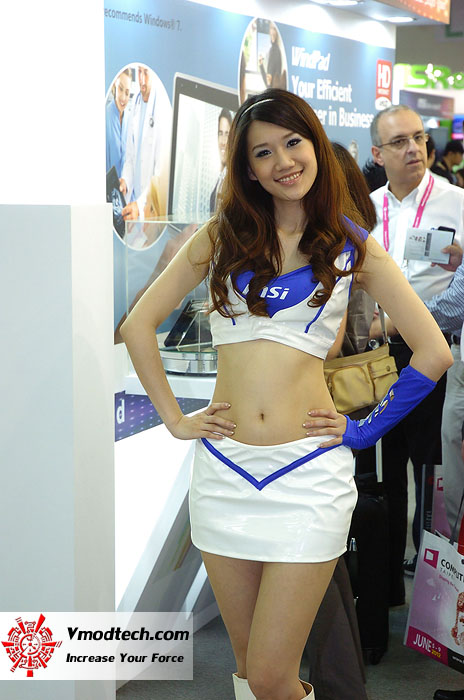 7 Pretty Girls of Computex Taipei 2011 Day 2