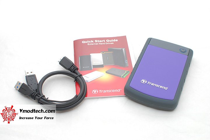 3 Review : Transcend StoreJet 25H3 1TB USB3.0 External Harddrive